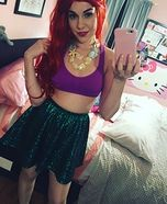 Princess Ariel Homemade Costume