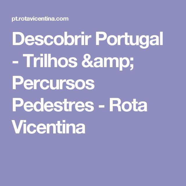 Descobrir Portugal - Trilhos & Percursos Pedestres - Rota Vicentina