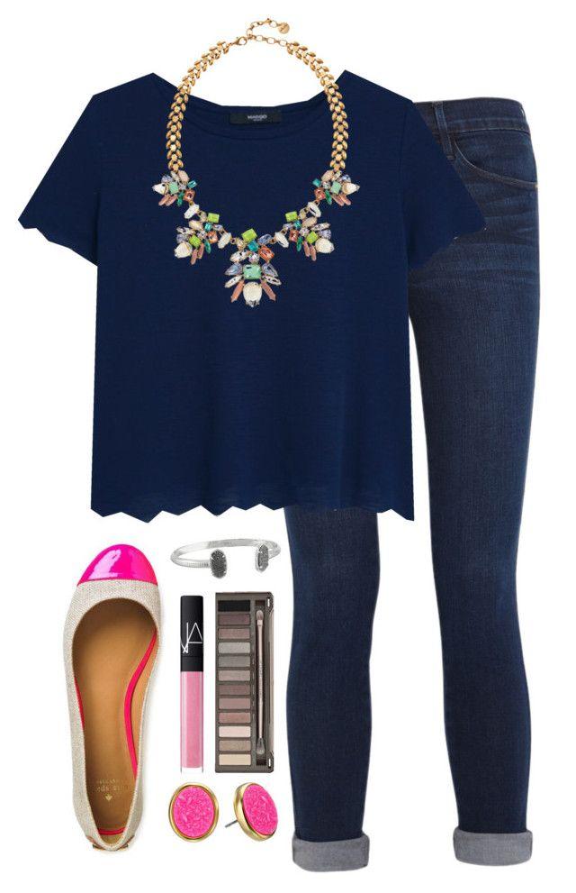 #summer #outfits / Blue Oversize Tee + Denim
