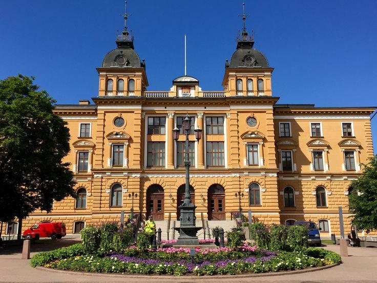 Oulu City Hall, Finland. Photo: Mauri Kuorilehto (23.7.2015).