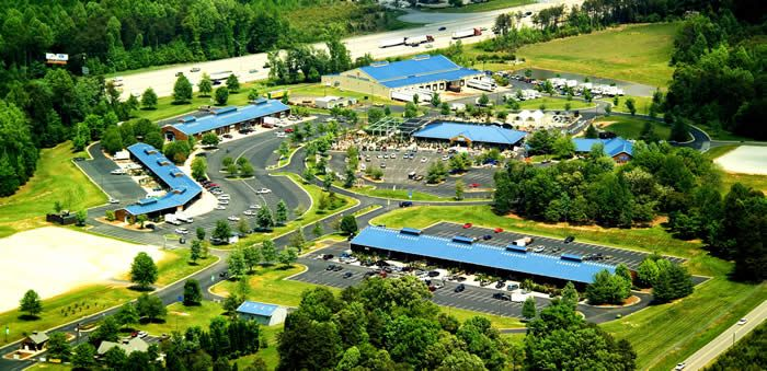 North Carolina's Piedmont Triad Farmer's Market is located in Greensboro, NC.  The market is open from 7 AM - 6 PM Monday - Sunday. There are Farmers Sheds where you can buy locally grown produce and such. There are also retail buildings.
