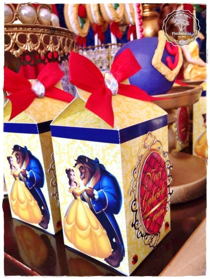 Beauty and the Beast Birthday Party | CatchMyParty.com