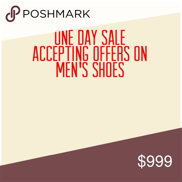 Men's Shoes Accepting Offers Today All Men's Shoes on sale Shoes