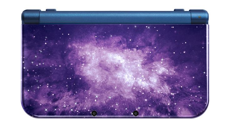 Nintendo NEW 3DS XL - Galaxy Style <- If you'll excuse me, I'll be crying in a corner.