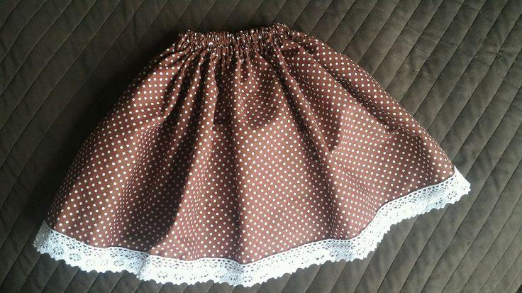 Купить Юбка для девочки с хлопковым кружевом - юбка, юбка детская, юбка детская хлопок