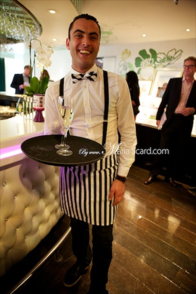 Harvey Nichols - Bar Staff with Bow tie