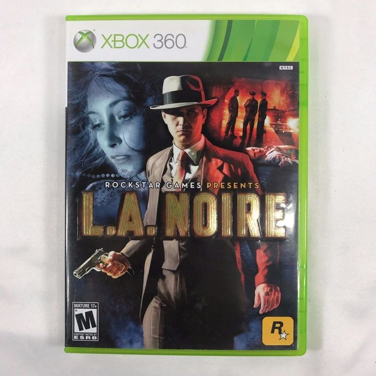 L.A. NOIRE Rockstar Video Game Microsoft Xbox 360 2011 Game Rated Mature M Used 710425490941 | eBay