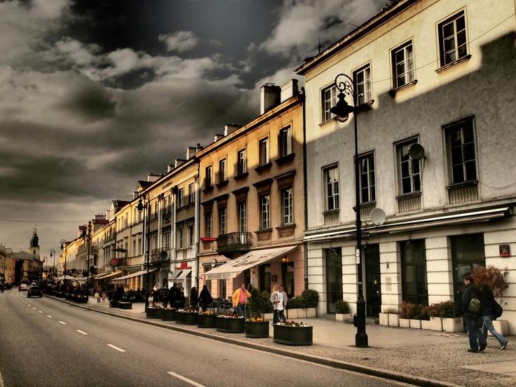"""Nowy Świat St (""""New world""""), Warsaw"""