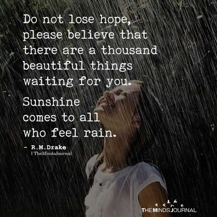 Do Not Lose Hope Hope Quotes Life Lost Hope Quotes Hope Quotes