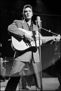 January 1956 Elvis Made His First Television Appearance On The Dorsey Brothers Stage Show. Produced By Jackie Gleason. Dorsey biographer recalls Elvis Presley's appearances on Stage Show in 1956