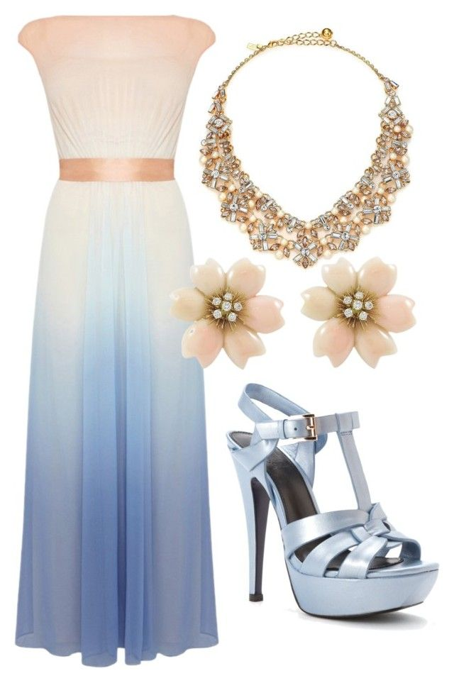 A Summer Wedding by ellary-branden on Polyvore featuring Coast and Kate Spade