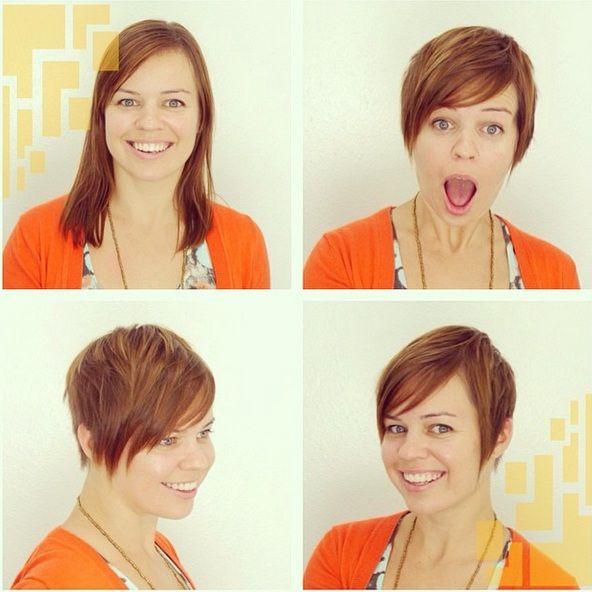 15 Bilder Vorher-Nachher-Frisuren – lasst euch inspirieren - Neue Frisur