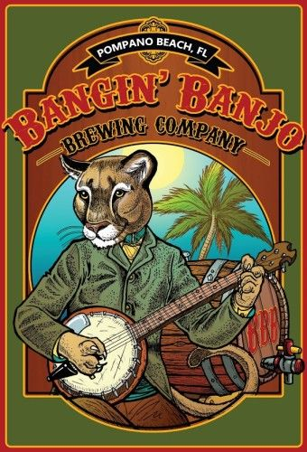 Bangin' Banjo Brewing : Brewing Fine Craft Beer in Pompano Beach, FL. Any Day Beer for Every Day People.™