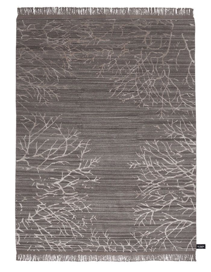 Cotton rug form the Traces de memoire collection by CCTapis from www.stephenneall.co.uk