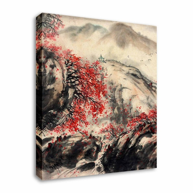 Sepia Cherry Blossom By Abstract Art Canvas Printers, Canvas Art Cheap  Prints By Www.