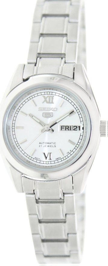 Seiko 5 #SYMK23K1 Women's Silver Dial Self Winding Automatic Watch