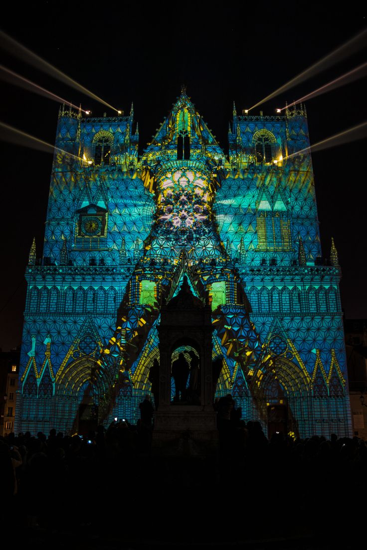 Fête des Lumières de Lyon © Bons baisers