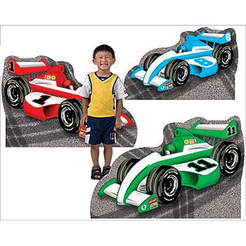 Race Car Standees