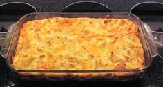 Cheddar Breakfast Strata - CDKitchen.com -  A delicious and simple overnight breakfast casserole made with sharp Cheddar cheese, bread, milk, eggs, and seasonings.