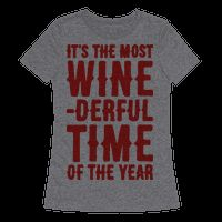 Its The Most Wine-derful Time of the Yea..#wino #winelover #winelovers #christmas #puns