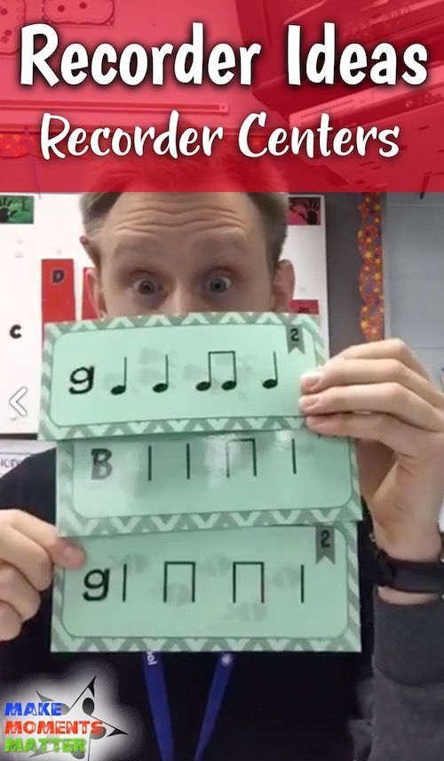 I'm talking about recorder centers! I'll share the process I use to teach the centers and some tips and tricks.