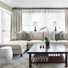 Mitchell Gold Sofa Contemporary Living Room Sherwin Williams Tony Taupe Mark