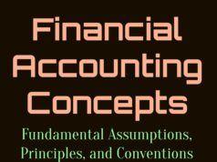Fundamental Financial Accounting Assumptions, Principles