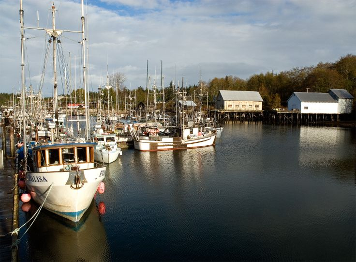Sointula BC harbour on Malcolm Island. Established by early Scandanavian settlers in the late 19th century. Vancouverislandnorth.ca