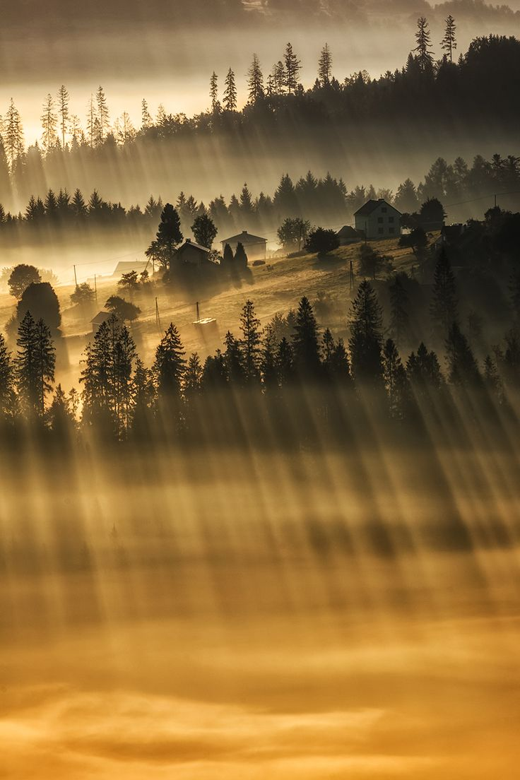 35PHOTO - Pawel Uchorczak - Morning in Beskidy
