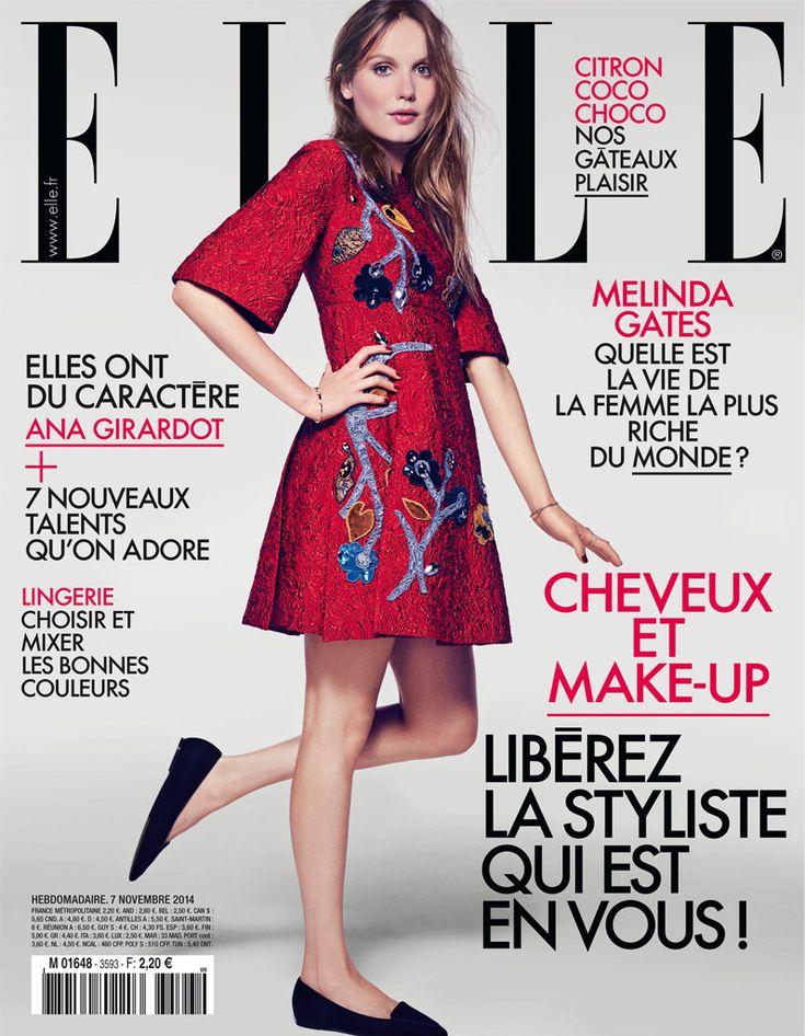 Ana Girardot for Elle France 7 November 2014  (n° 3593)