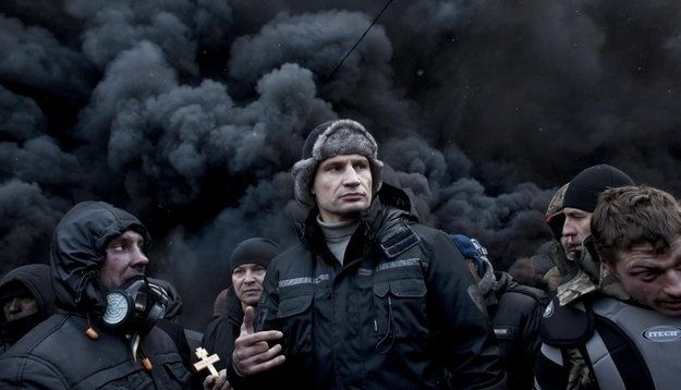 World Heavyweight Boxing Champ Vitali Klitschko is Leading the Opposition Party in Ukraine | FIGHTLAND