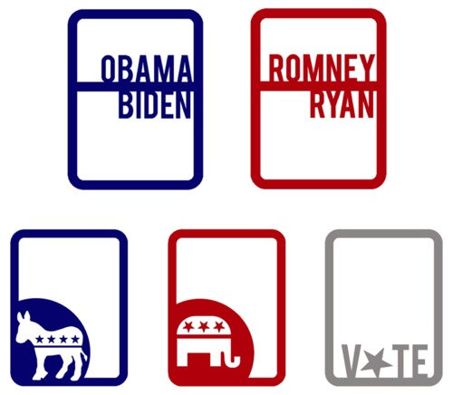 Project Life printable election cards (free)