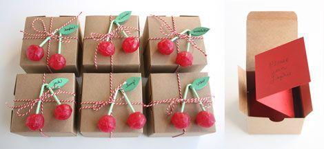 invitaciones cumpleaños con cerezas de chupa chups!