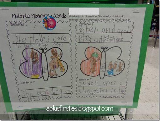 Throwback Thursday ~Literacy Stations