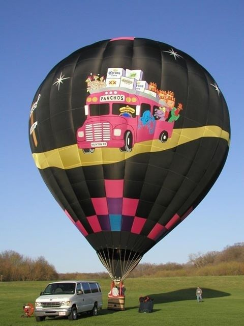 Hot Air Balloon....THE WHEELS ON THE BUS