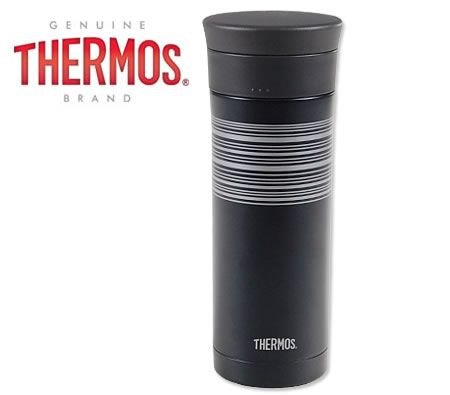 Stainless Thermos for coffee or tea lover.