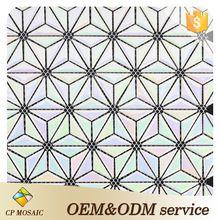 Многоцветный Нерегулярные Треугольник Звезда Шаблон Керамические Японская Мозаика Мозаика
