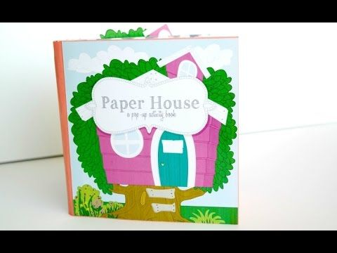 Cricut Paper Doll House Activity Pop Up Book - YouTube ...