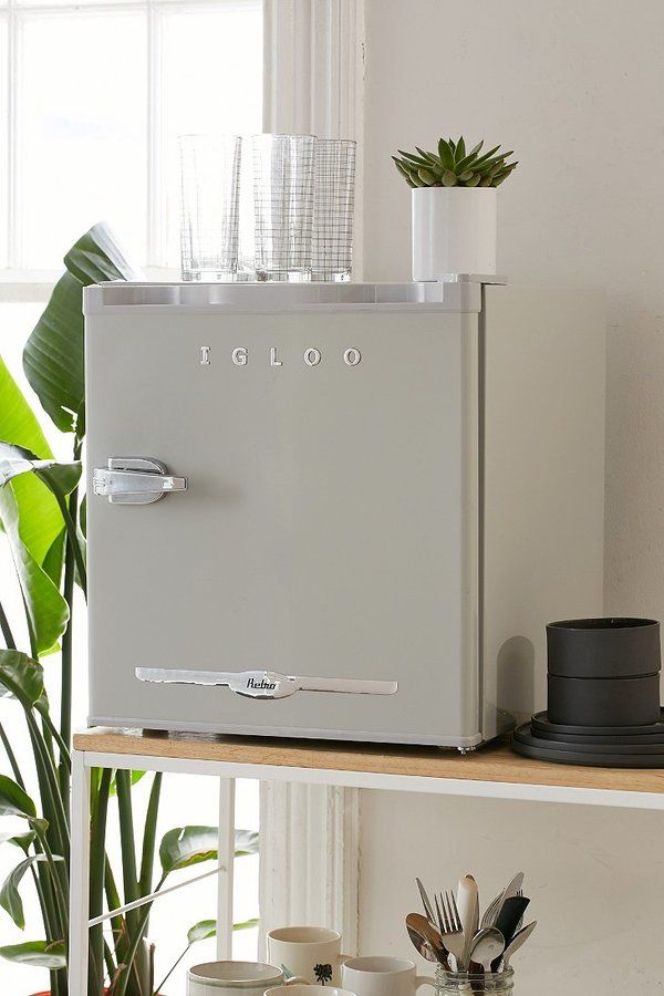 Igloo Mini Refrigerator perfect for the small apartment and very retro modern