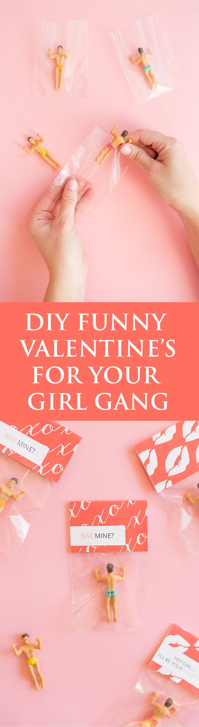 Funny DIY Valentine's Favors For Your Single Girlfriends