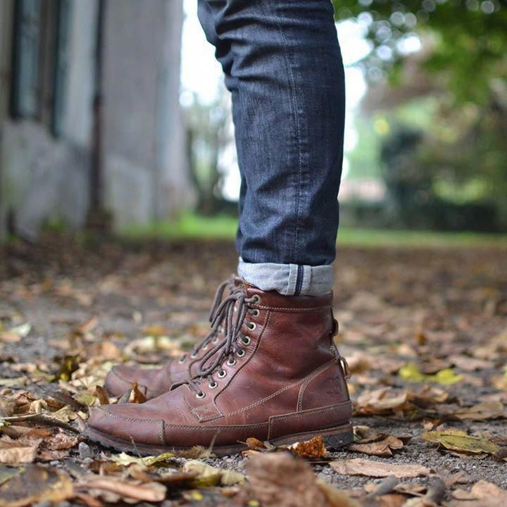 Made With Recycled Materials The Earthkeepers Original Leather Boot Fallstyle Style Mensstyle Mens Boots Fashion Work Boots Timberland Boots Outfit Men