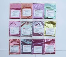 Super grade kameleon pigment, kleur shift pigment, 12 item met 10 gram elke, totaal 120 gram, kleurverandering parel pigment poeder(China)