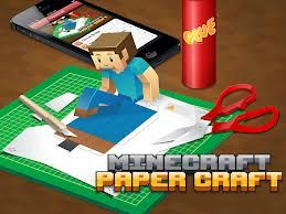 wow thats a fun app the app is    minecraft papercraft studio