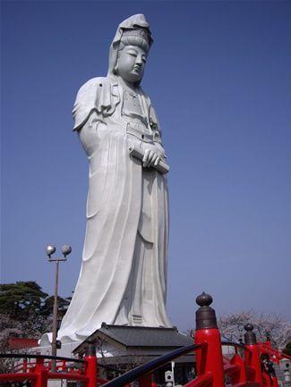 高崎白衣大観音(群馬) Takasaki Byakui Daikannon, Gunma, Japan
