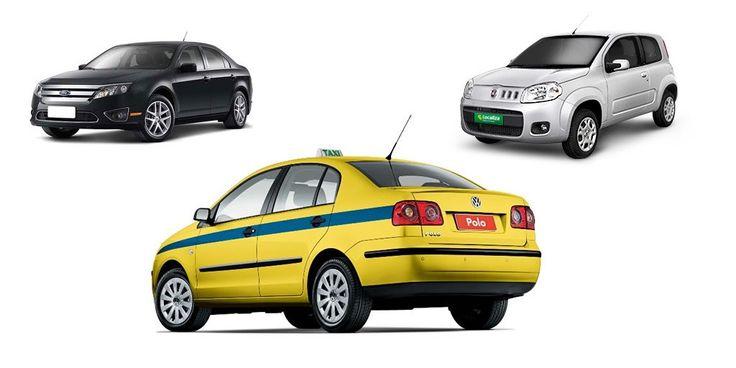 Táxi Vs. Uber: Que tal alugar um carro?