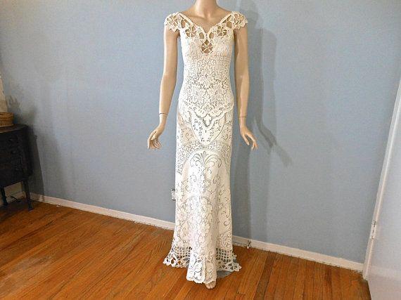 25+ Unique Crochet Wedding Dresses Ideas On Pinterest