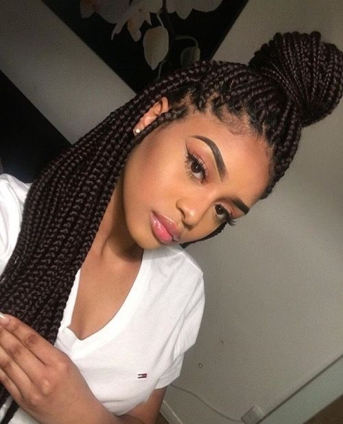 Best 25 Box Braids Ideas On Pinterest Black Braids Box