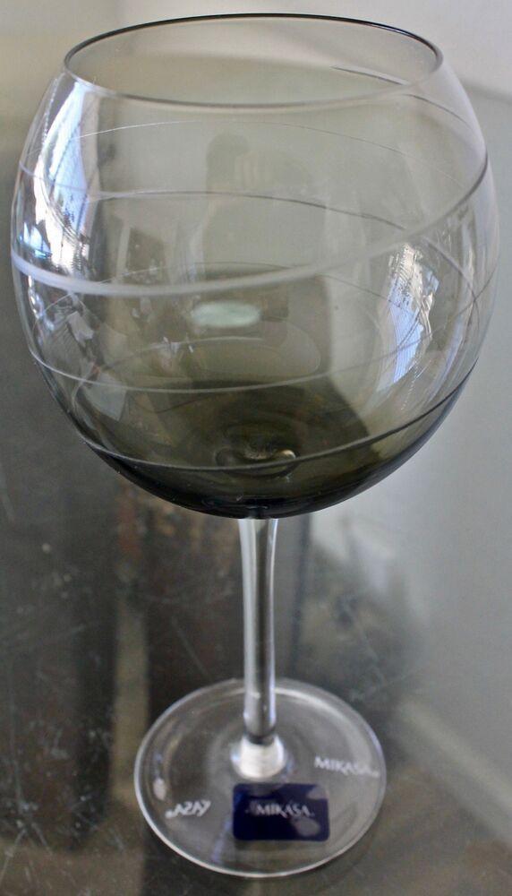MIKASA CHEERS CRYSTAL Red Wine Glasses