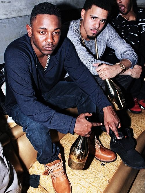 Kendrick lamar and j cole....both great rappers