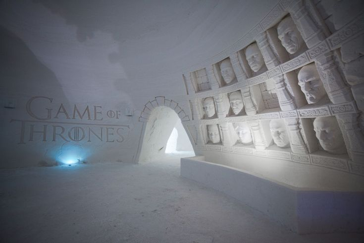 If for some reason you wish to sleep under the gaze of a White Walker, now you can at the Lapland Hotels SnowVillage.